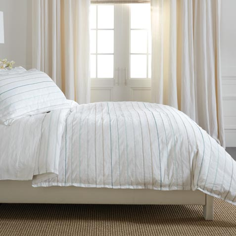 Pleated Duvet Cover ,  , large