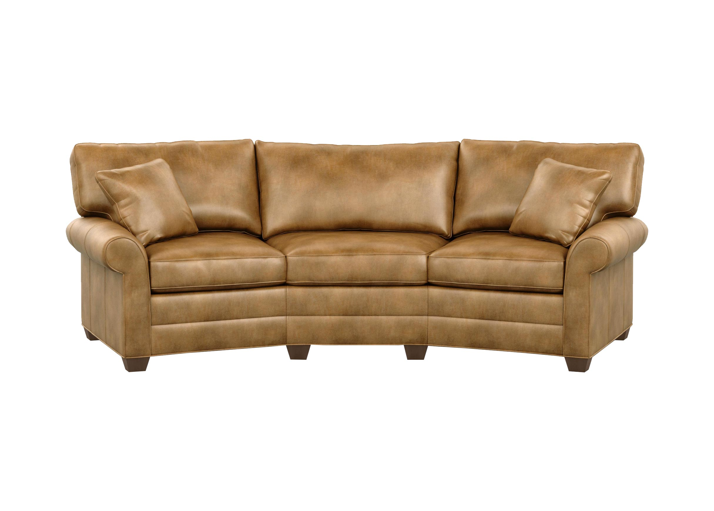 Bennett Conversation Leather Sofa Sofas Loveseats