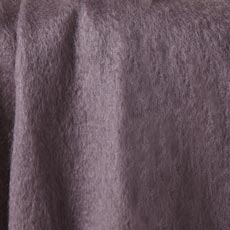 Plum Mohair Throw