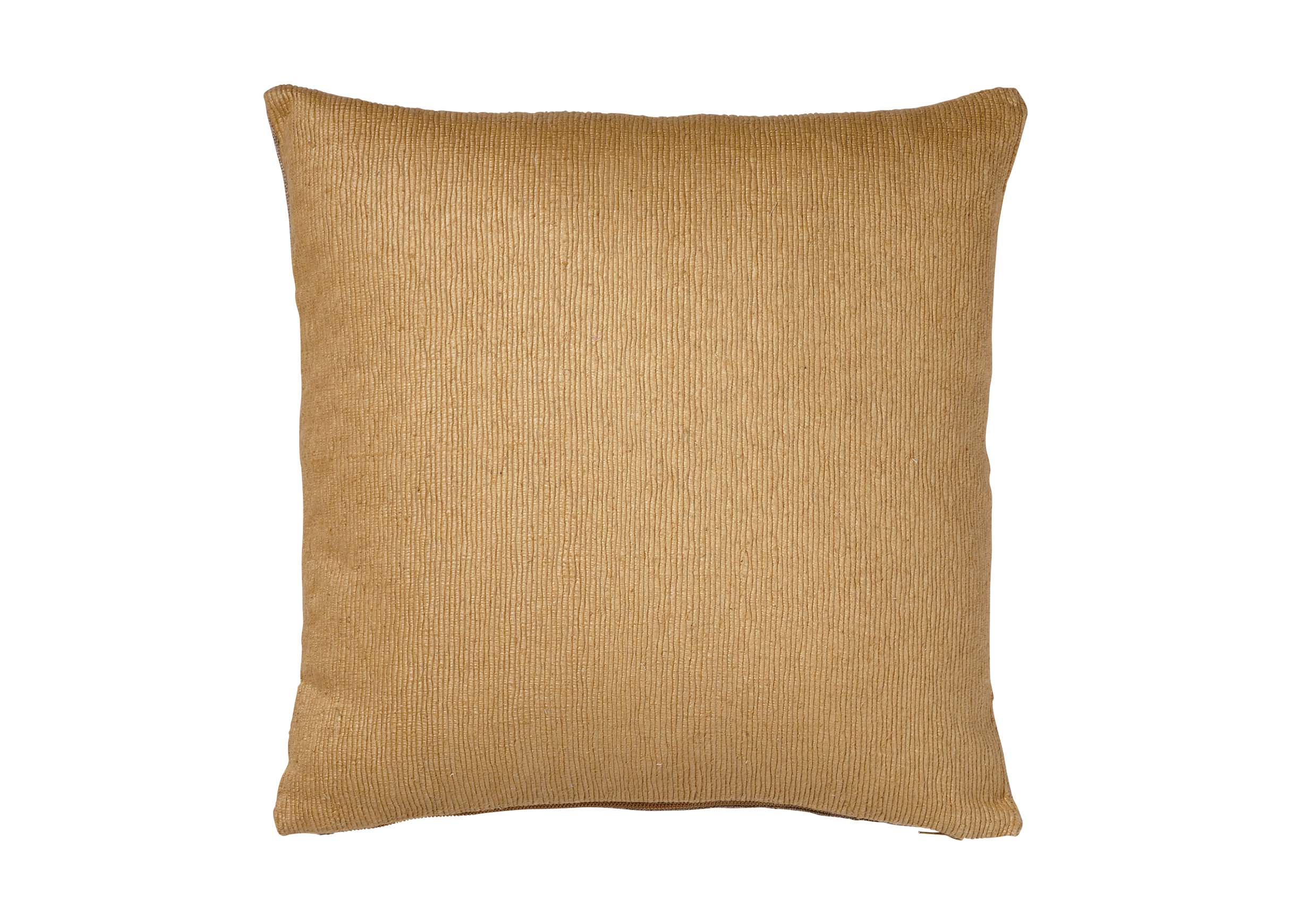 Gold Ribbed Pillow