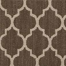Windsor Grey Moroccan Art Serged Rug