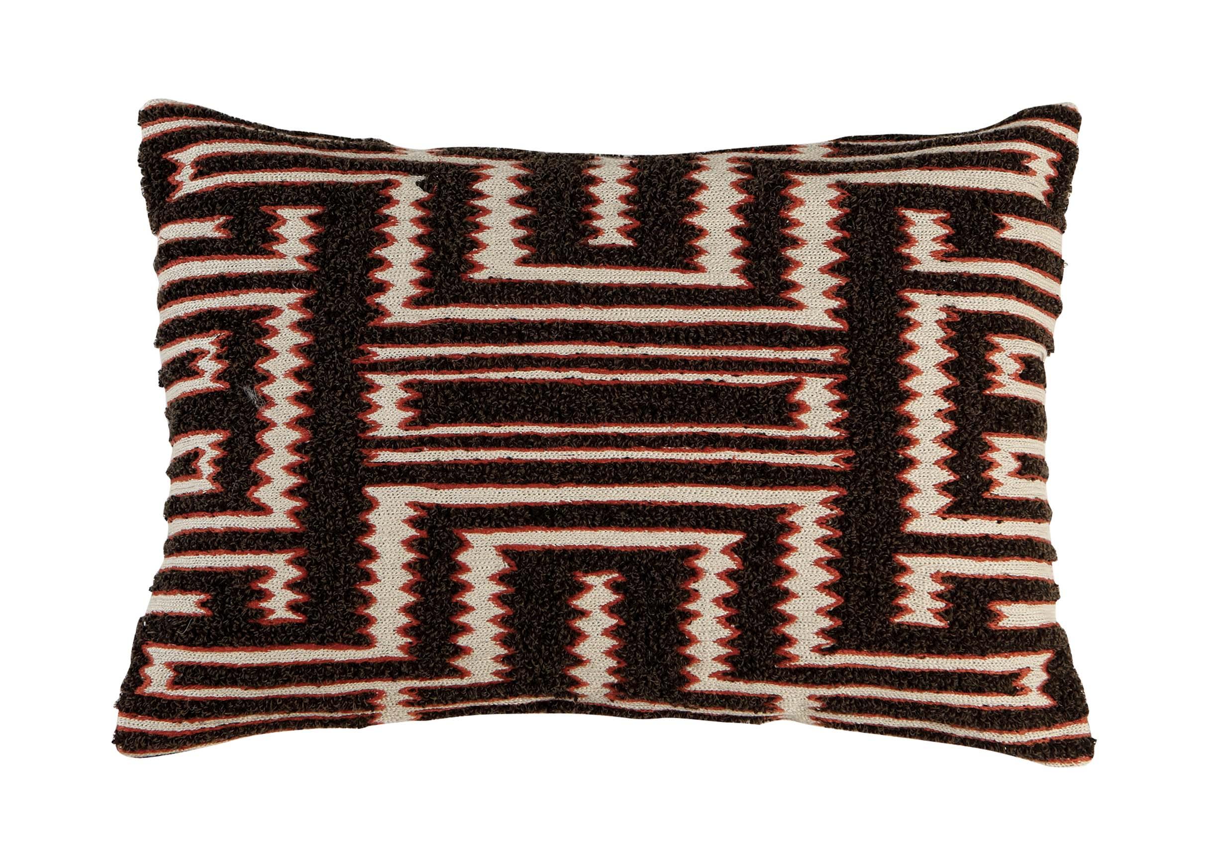 Maia Modern Pillows : Modern Tribal Boucle Pillow Pillows