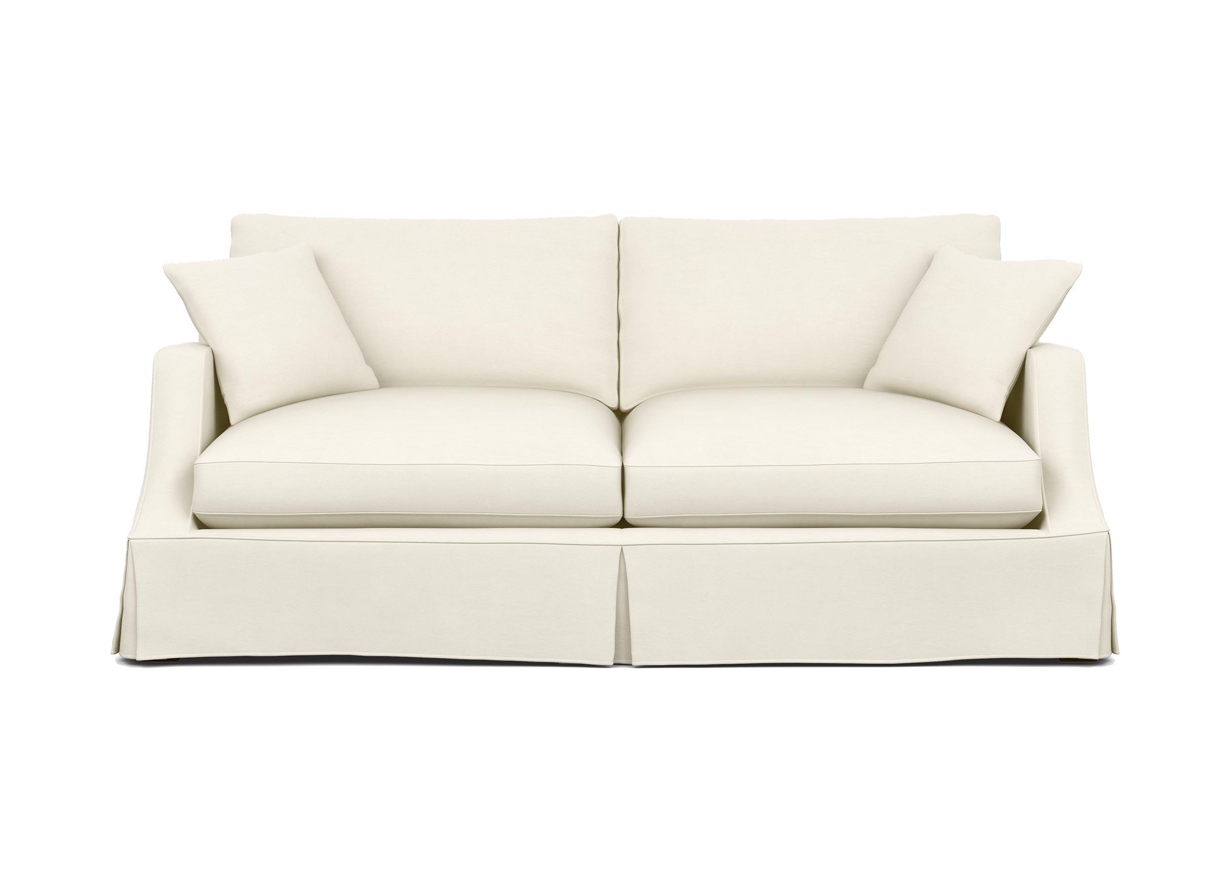 Lynn Slipcovered Sofa Sofas Loveseats