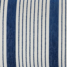 Navy Stripe Outdoor Pillow