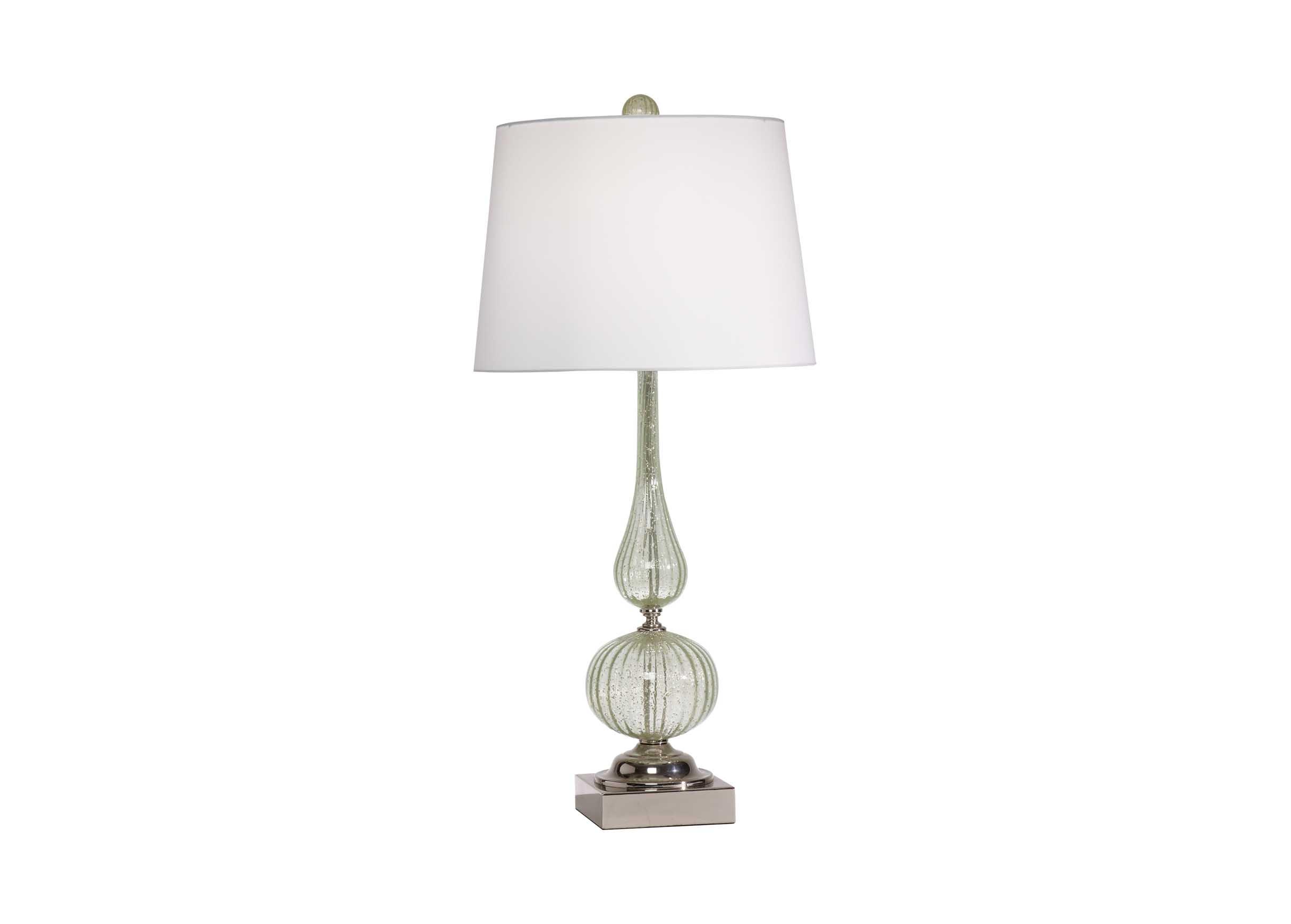 Seafoam Glass Table Lamp Table Lamps Ethan Allen