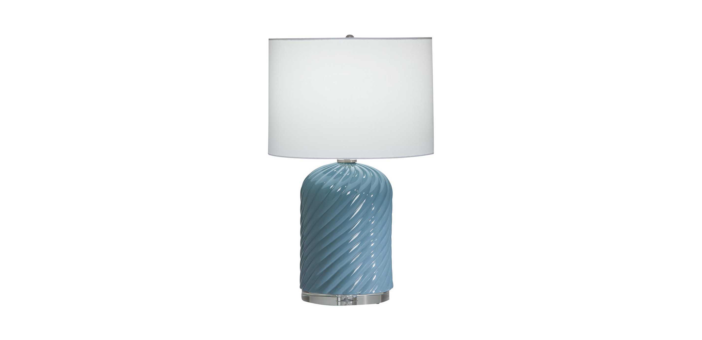 Quinn blue or ivory table lamp ceramic base table lamps ethan allen quinn ceramic table lamp aloadofball Images