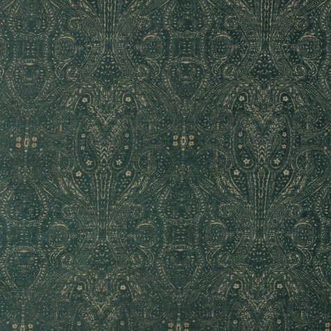 Regan Teal Fabric By the Yard ,  , large