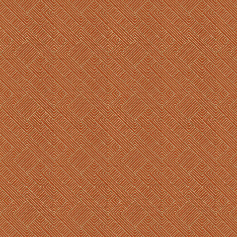 Hadi Tangerine Fabric by the Yard Product Thumbnail