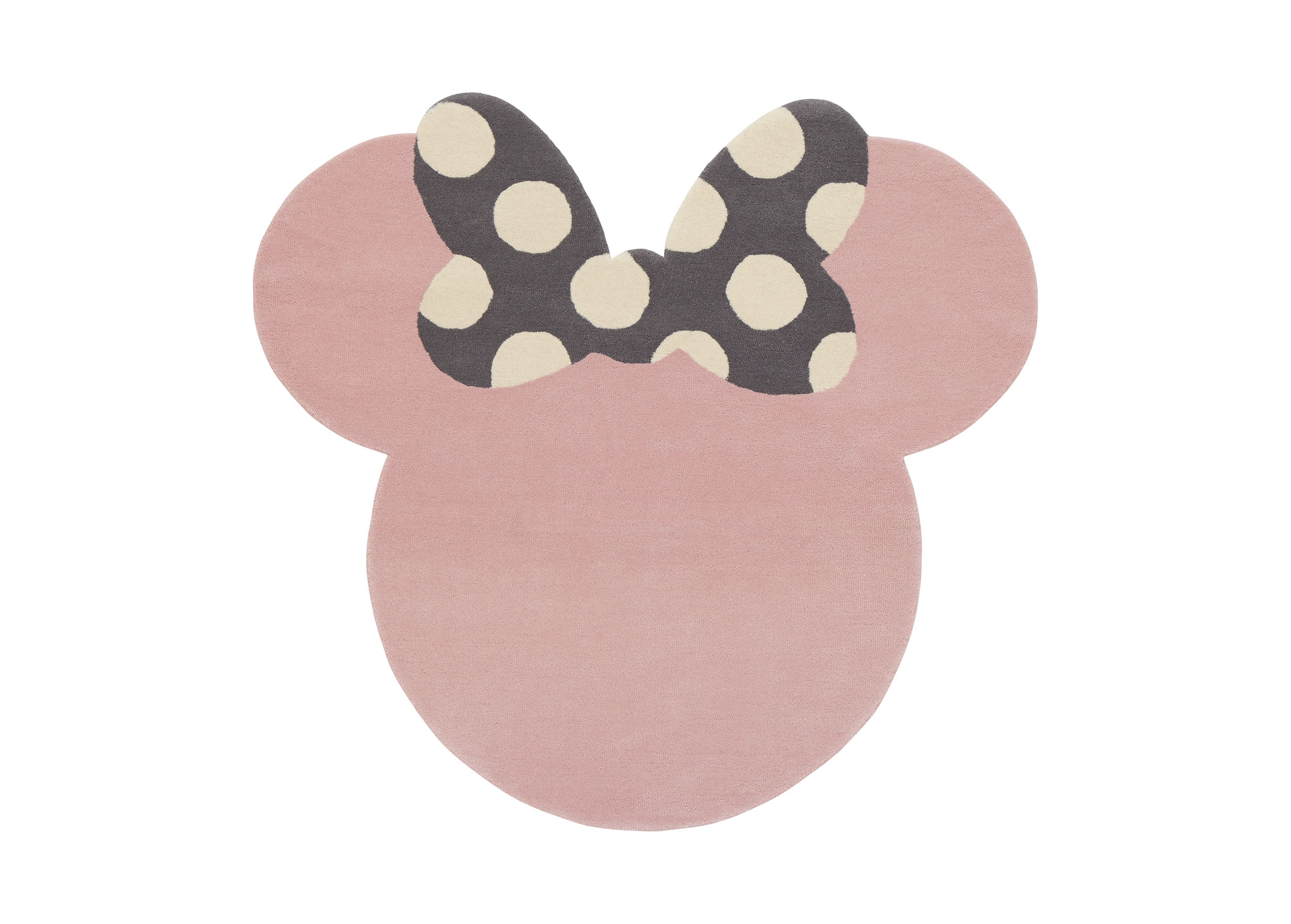 Images I See Minnie Mouse Rug , , Large_gray