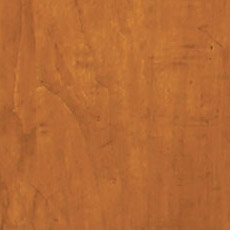 English Toffee (253): Warm medium brown stain with dark glaze, moderately distressed, antiqued. Jason Buffet