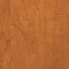 English Toffee (253): Warm medium brown stain with dark glaze, moderately distressed, antiqued. Ginger Tall Chest