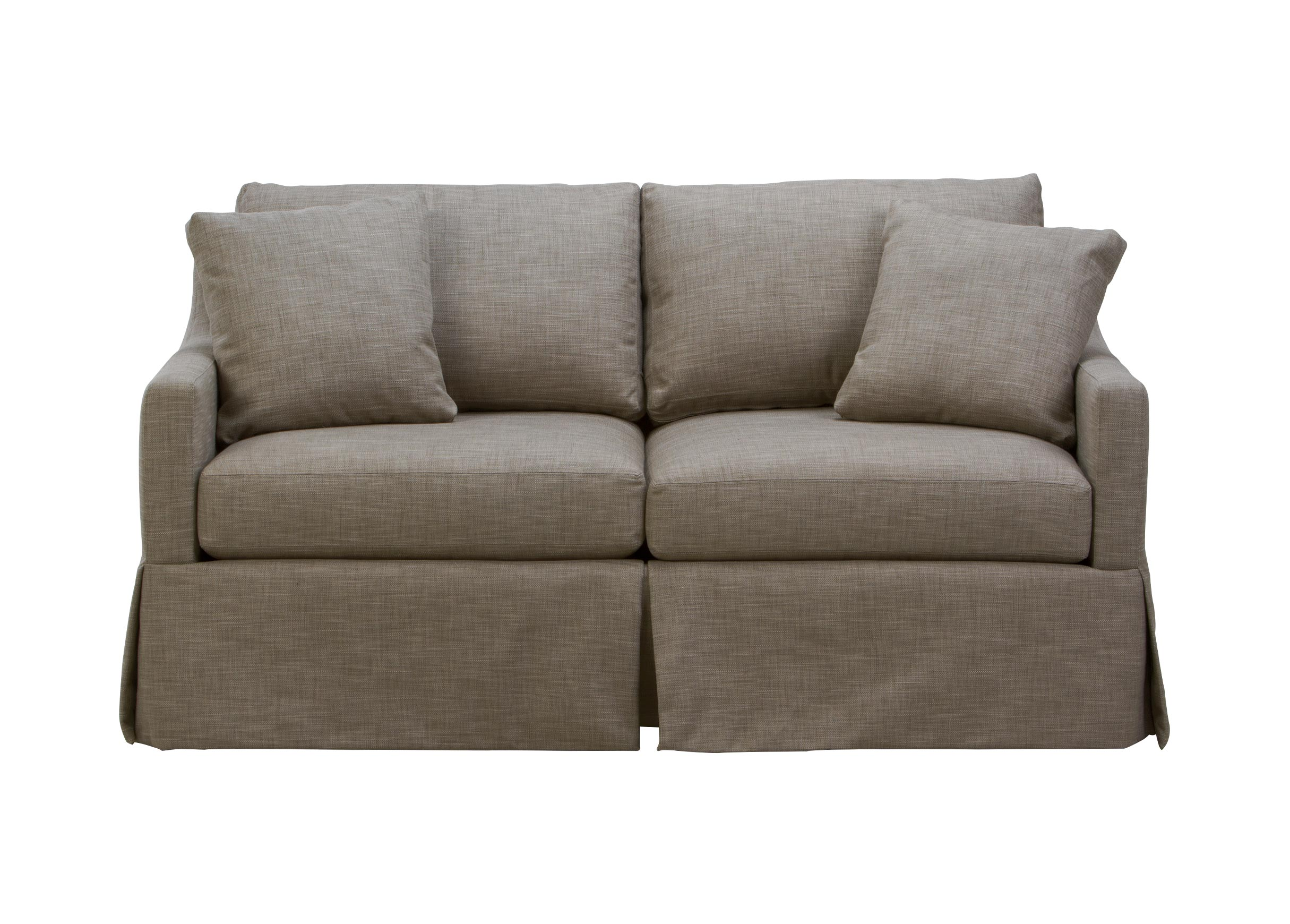 Marvelous Images Monterey Skirted Sofa , , Large_gray