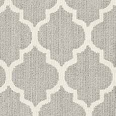 Misty Dawn Moroccan Art Serged Rug