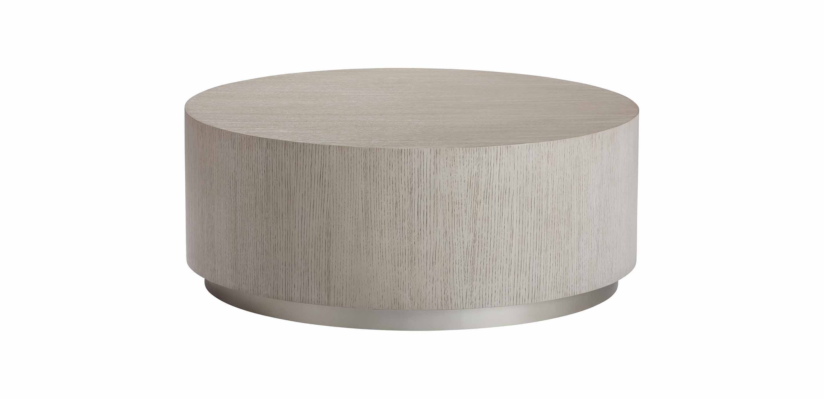 - Braemore Round Coffee Table Plinth Coffee Table Ethan Allen
