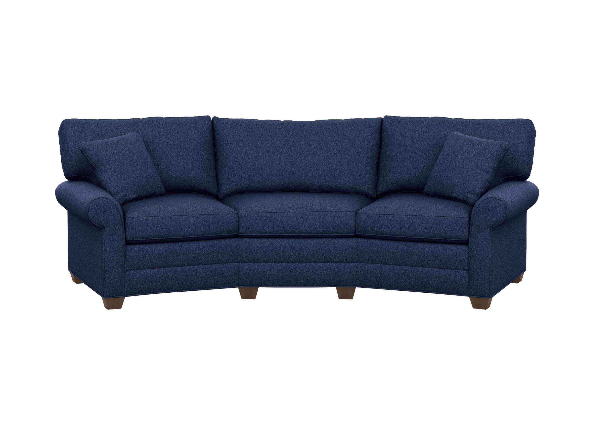 Bennett conversation sofa sofas loveseats ethan allen for Conversation sofa