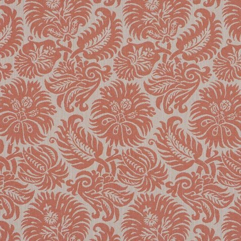 Lottie Coral Fabric by the Yard ,  , large