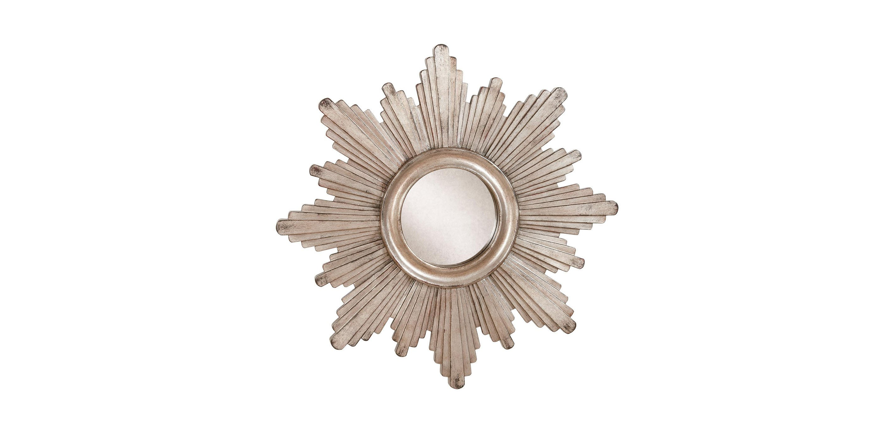 26 silver sunburst mirror mirrors for Sunburst mirror