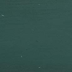 Hand-painted Forest Green (H51): Medium-dark green paint with brush marks, highly worn edges with white and brown rub through. Greenport Night Table