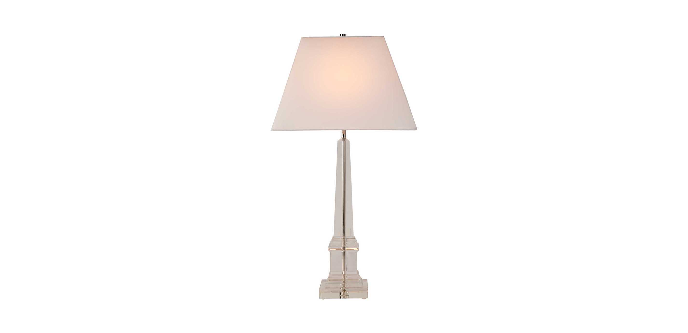 Leslie Crystal Table Lamp TABLE LAMPS