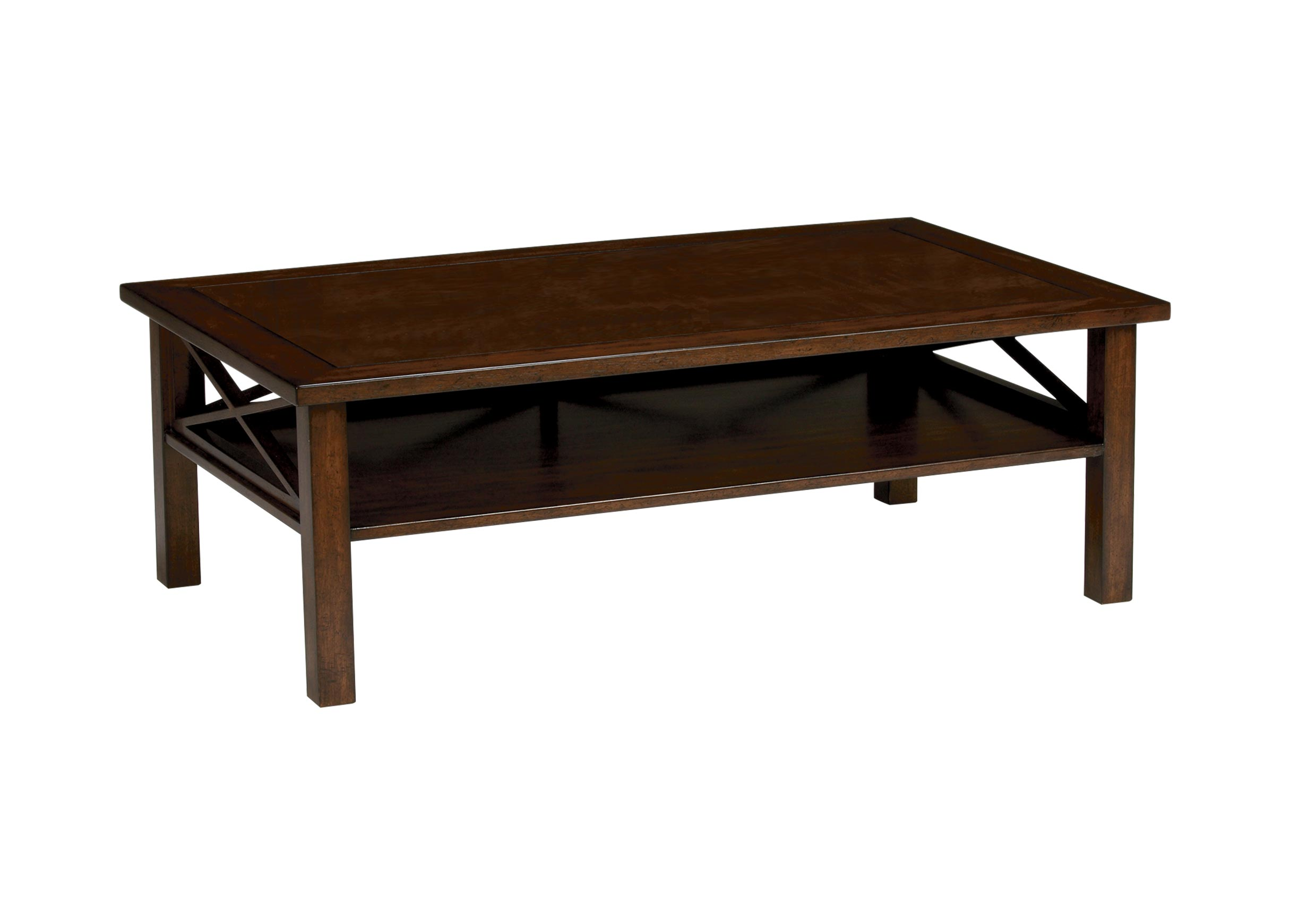 Dexter coffee table coffee tables ethan allen for Living coffee table
