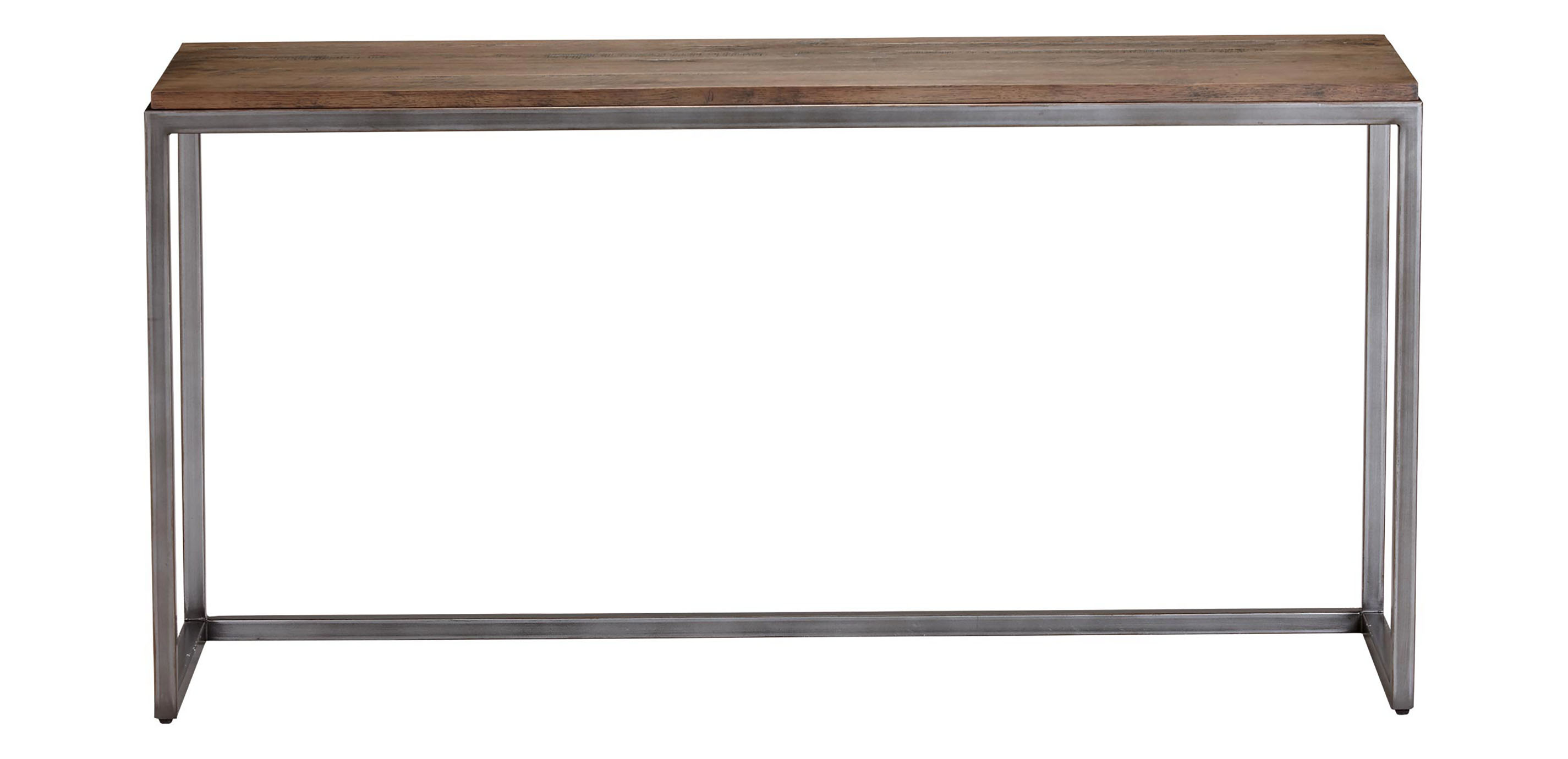 Images Borough Console Table Large Gray