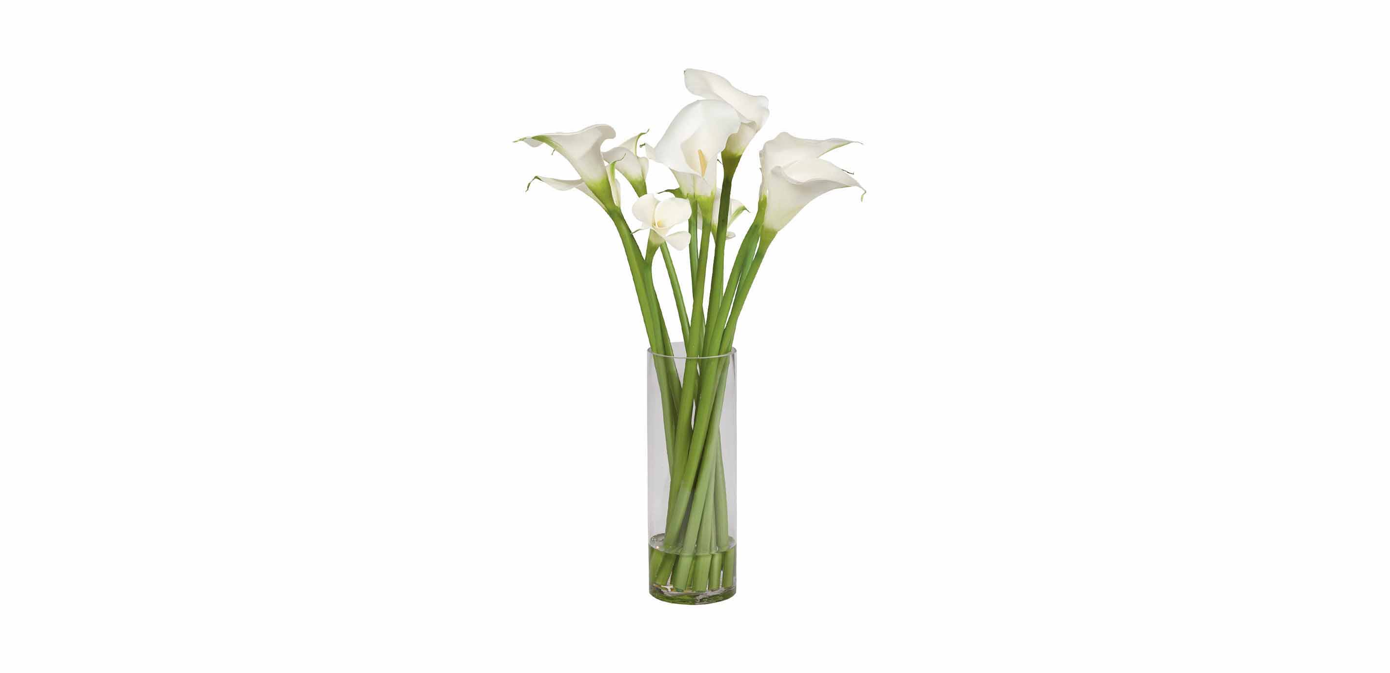 Calla Lily Tall Arrangement Florals Trees Ethan Allen