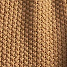 Honey Moss Stitch Knit Throw