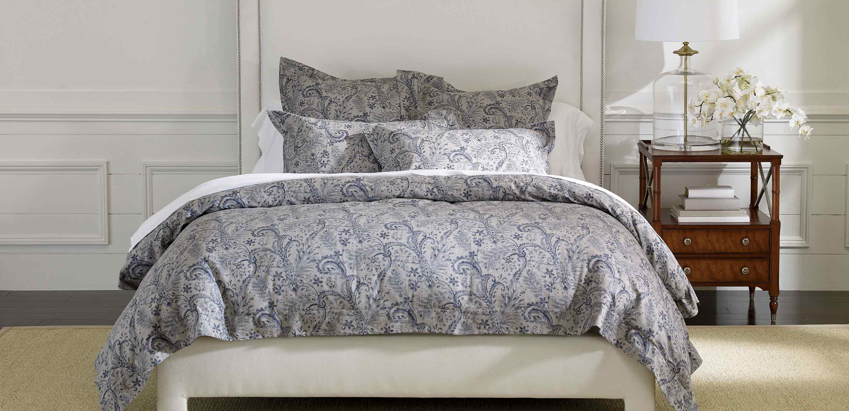 blue double fluffy grey of cover duvet covers ruffle set elegant paisley