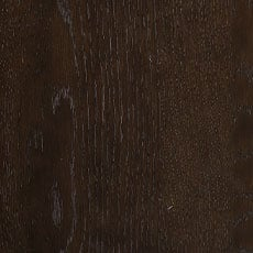 Burnt Umber (464): Cool dark brown stain with black undertones, lightly distressed, satin sheen. Allistair Round Side Table