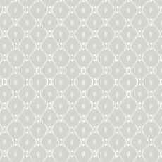 Gray Fretwork Ikat-Inspired Wallpaper