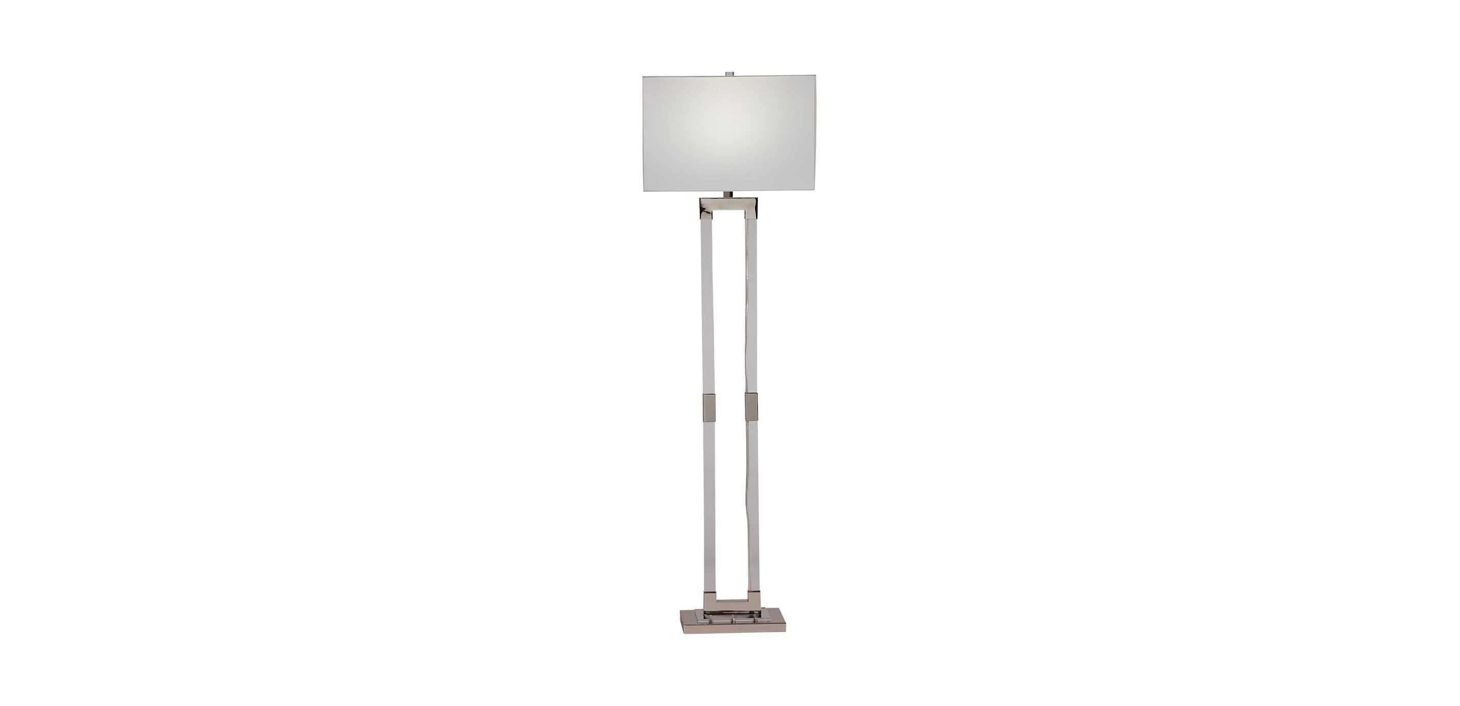 Lidya Modern Floor Lamp | Acrylic Floor Lamp | Ethan Allen