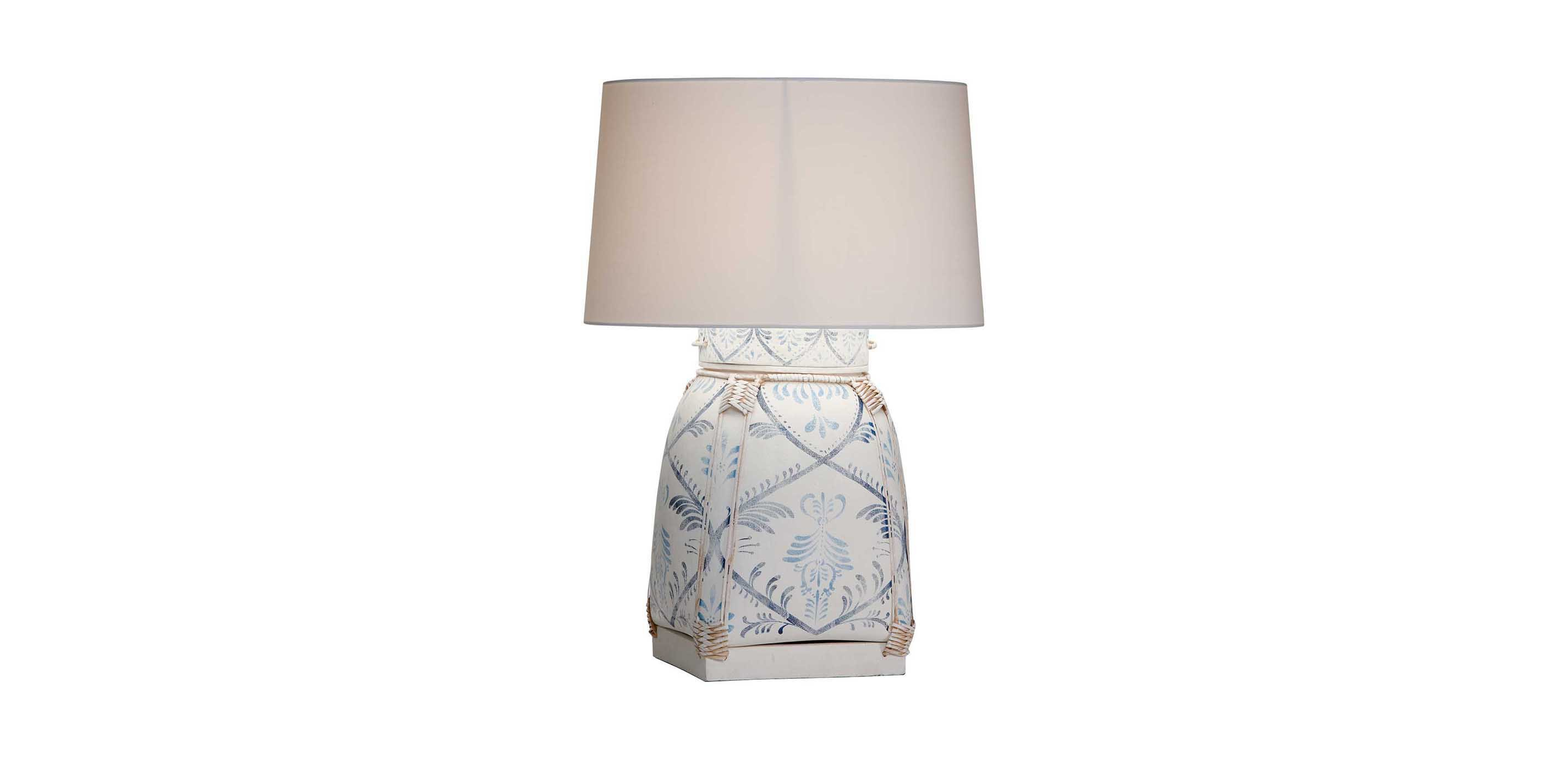 Jasmine blue bamboo table lamp table lamps images jasmine blue bamboo table lamp largegray aloadofball Images