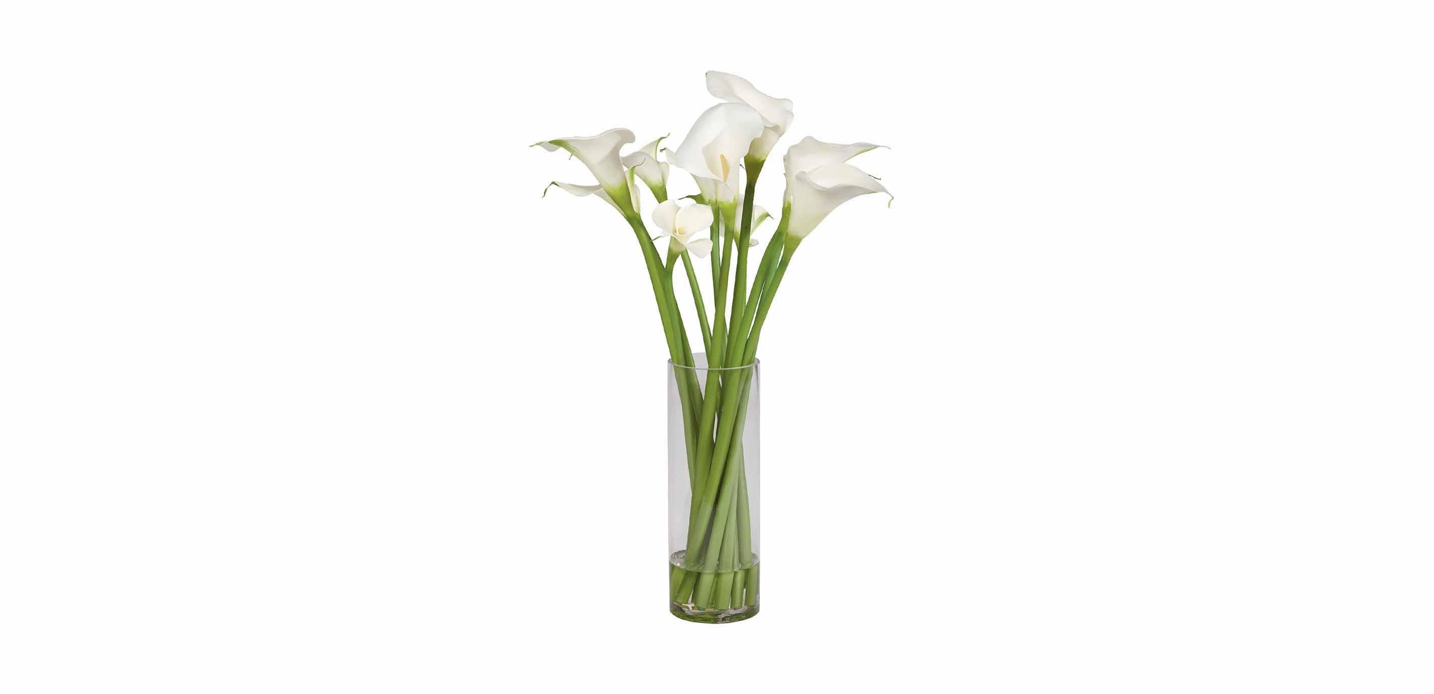 Calla Lily Tall Arrangement | FLORALS & TREES | Ethan Allen