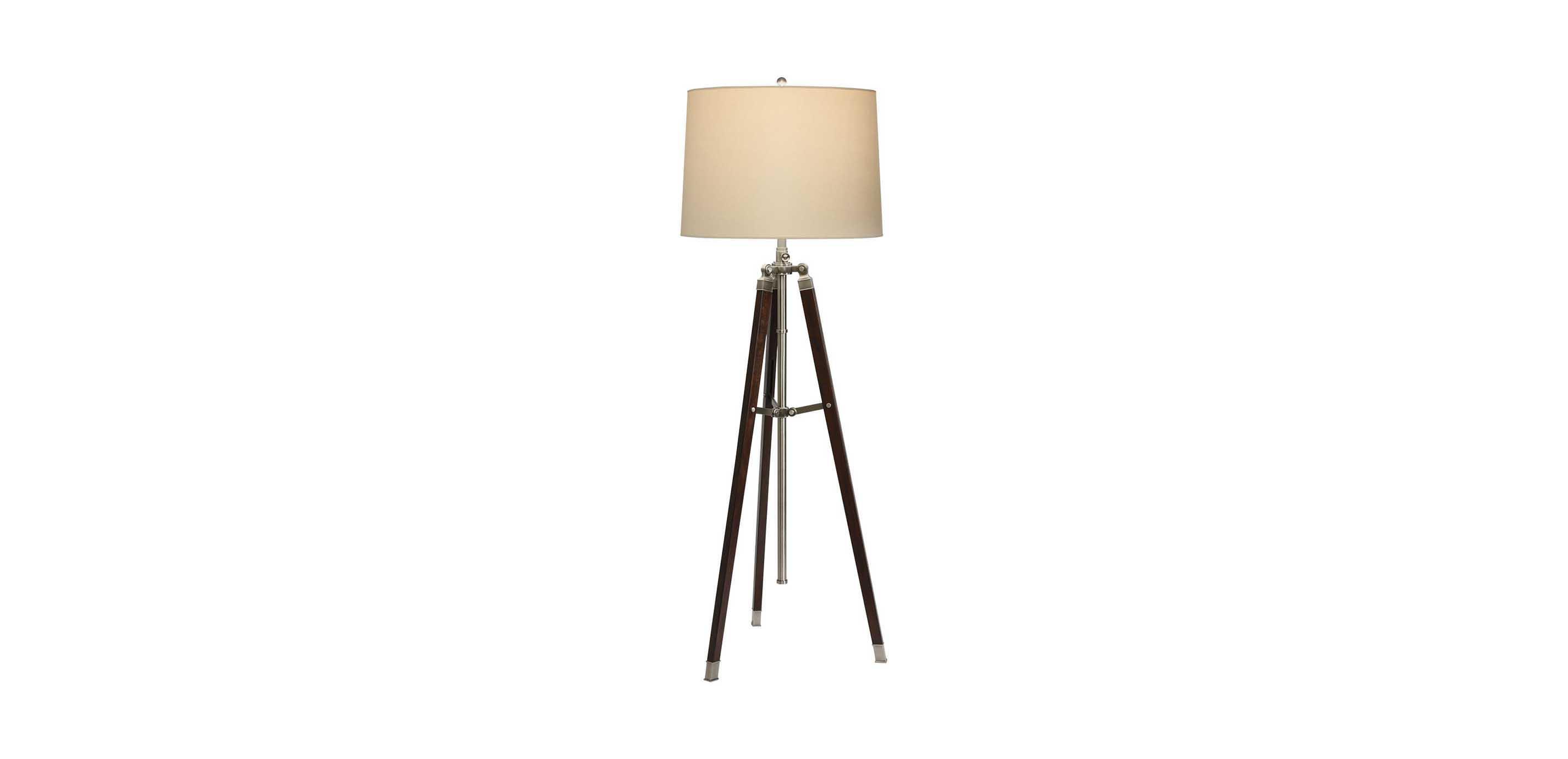 Surveyors Floor Lamp - Ethan Allen:Images Surveyor's Floor Lamp , , large_gray,Lighting