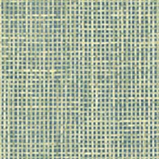 Green Woven Summer Grid Wallpaper