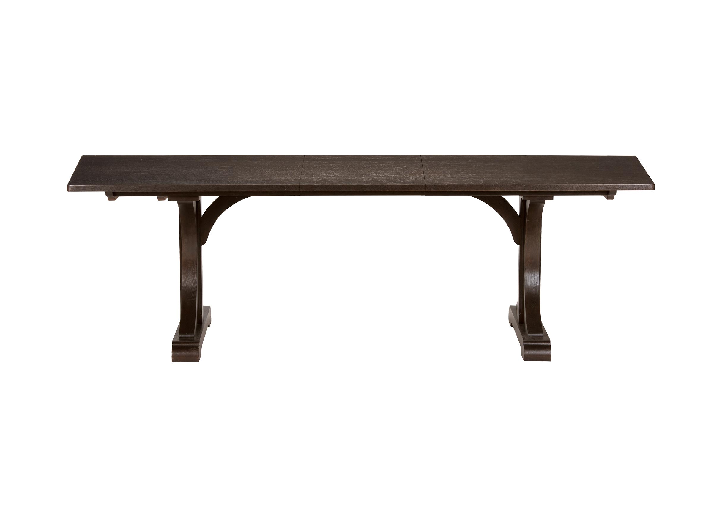 trestle dining room tables   Corin Trestle Extension Dining Table   Ethan Allen