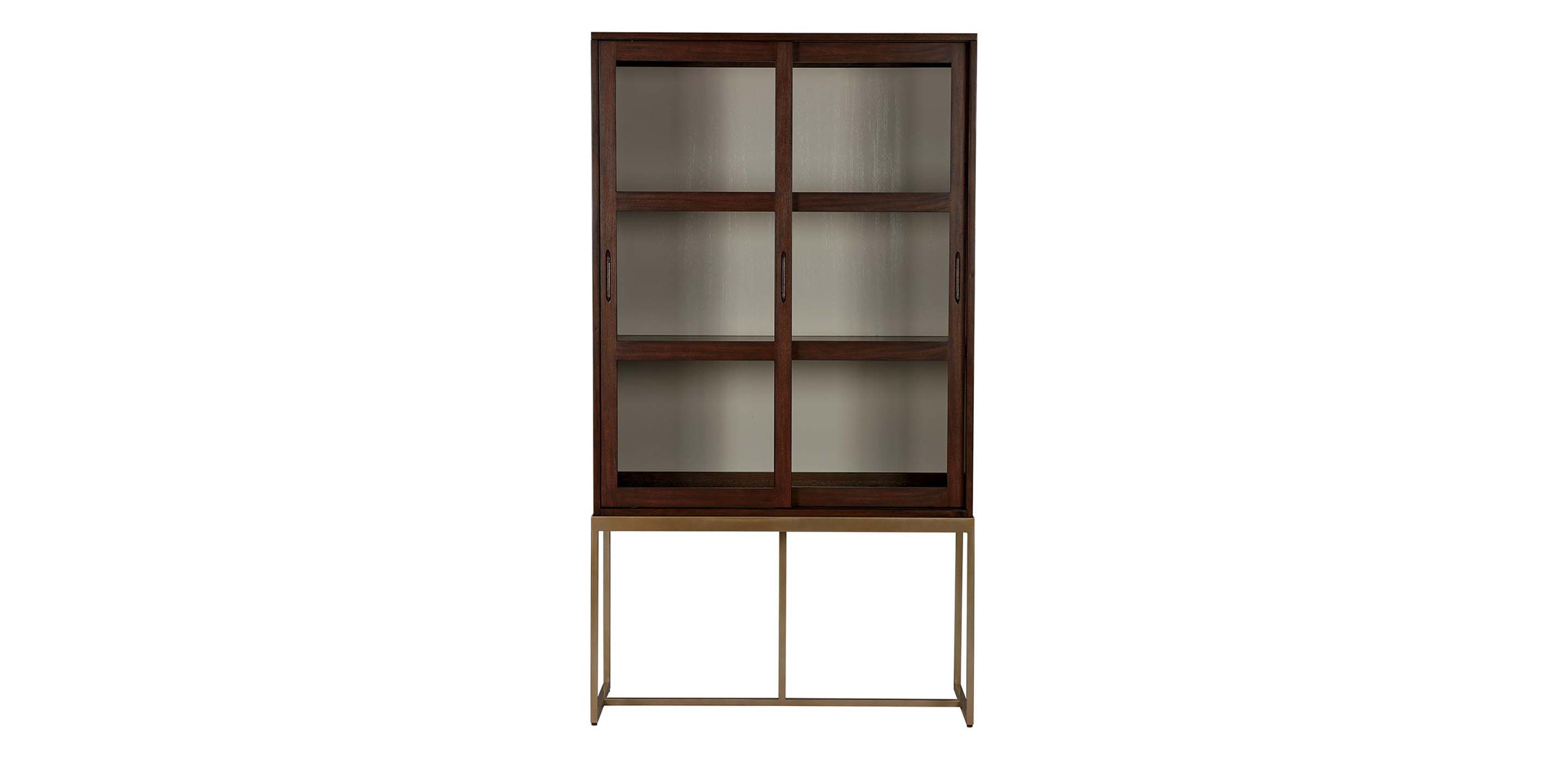 Galewood Tall Display Cabinet With Glass Doors Ethan Allen