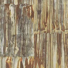 Copper Patina Panels Metal Wallpaper