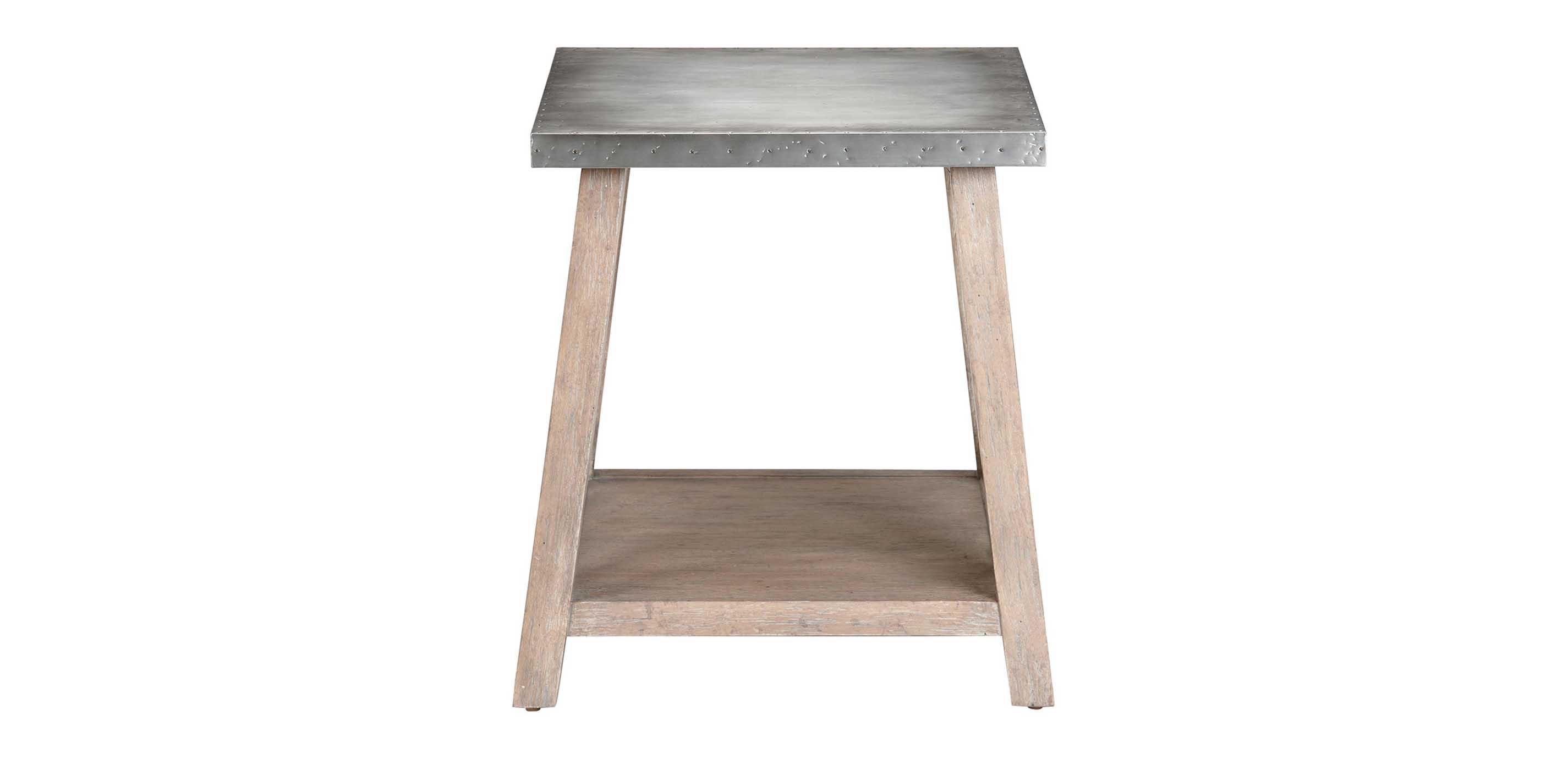 Bruckner Metal Top End Table Side Tables Ethan Allen