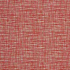 Grid Mickey Shorts Red (D2400), woven crosshatch Mod Motion Ottoman