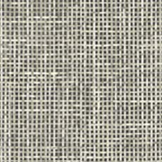 Charcoal Woven Summer Grid Wallpaper