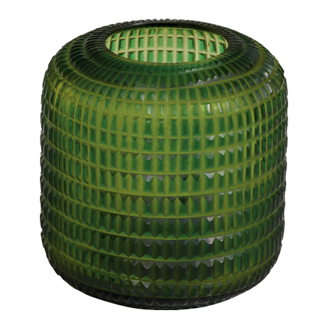 Small Lucira Emerald Vase ,  , large