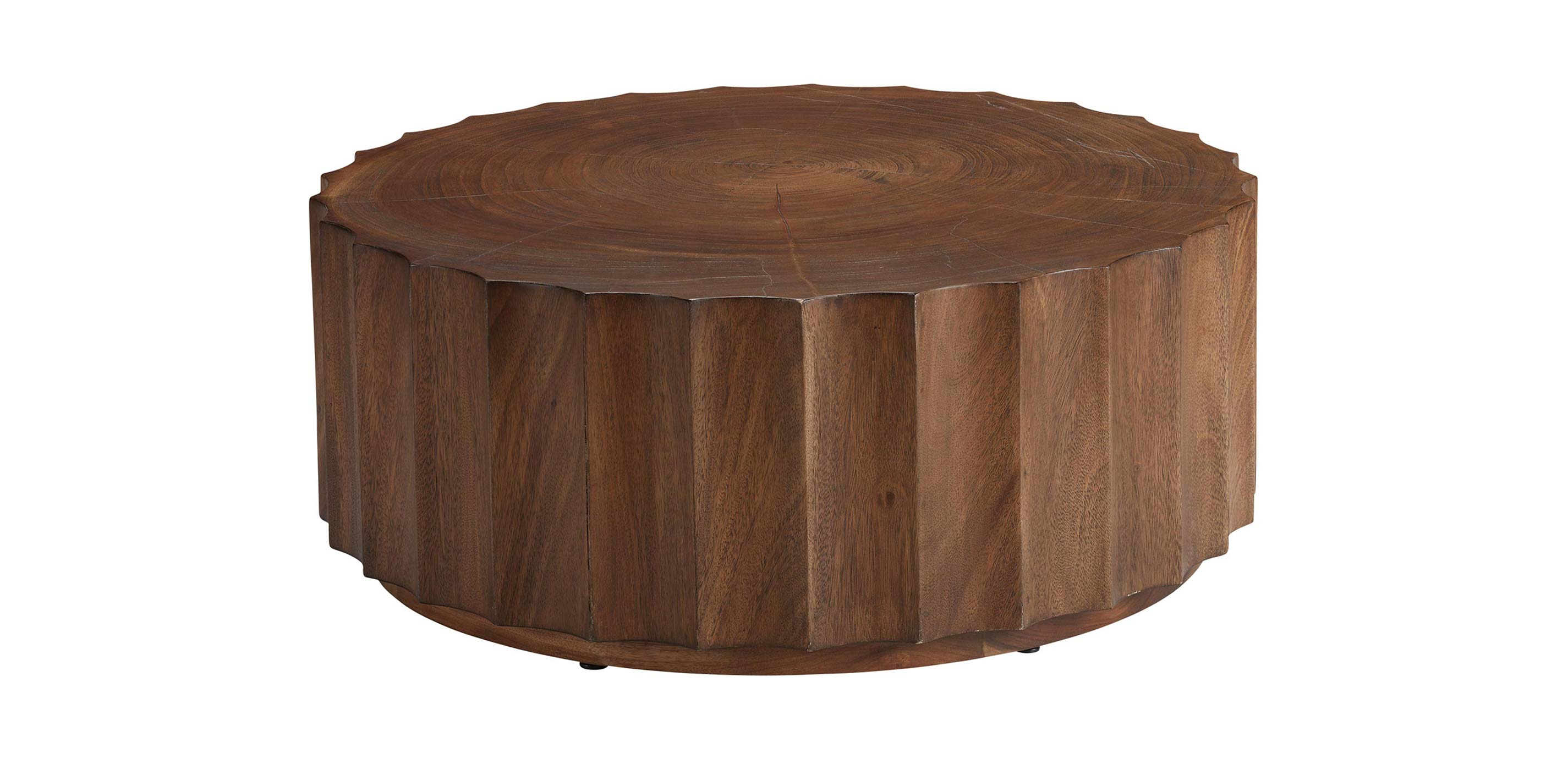 Girard Reclaimed Wood Coffee Table Wooden Top Ethan Allen