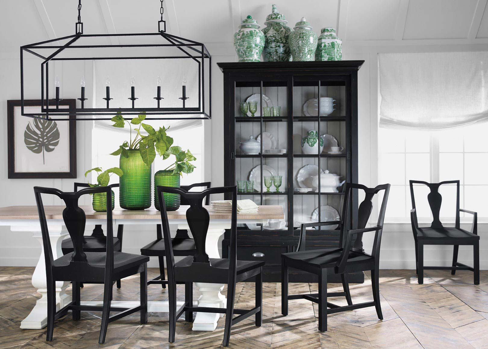 Back To Black And White Dining Room Ethan Allen Ethan