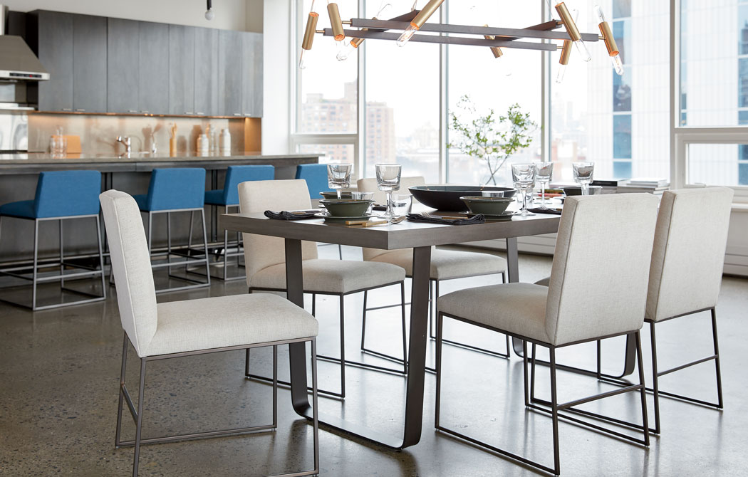 Family-Friendly Modern Dining Room Main Image