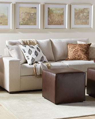 Living · EXPLORE. Sofas