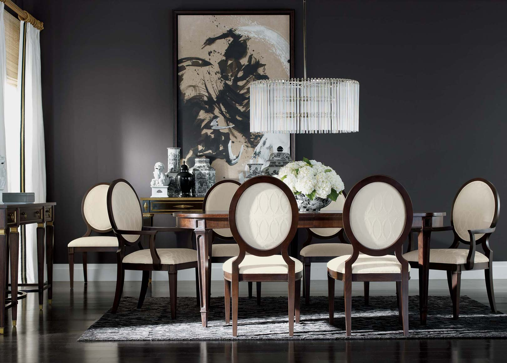 Sophistication Reigns Dining Room Main Image