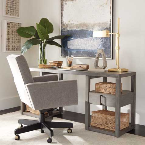 Corner Home Office Tile