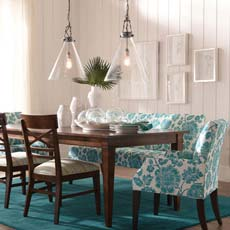 Bold & Beautiful Dining Room Tile
