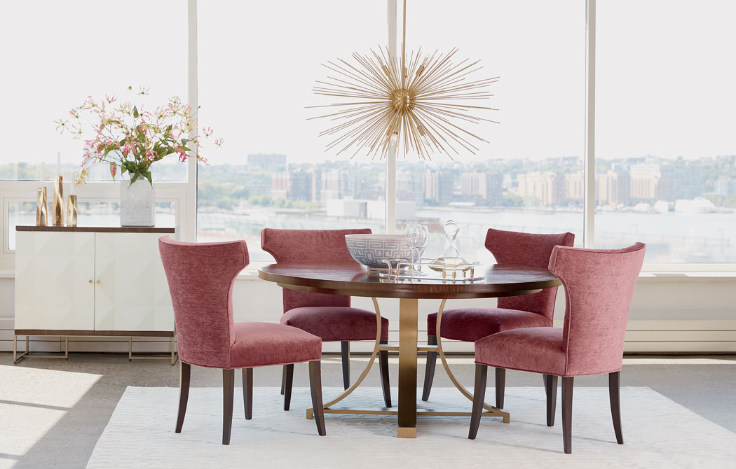 Glamorous Art Deco Dining Room Inspiration Ethan Allen